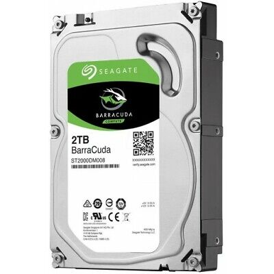 "SEAGATE BARRACUDA 2TB 3.5"" ST2000DM008 Internal Desktop Hard Drive SATA  [F43]"
