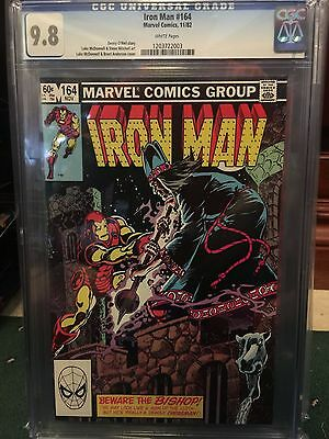 Iron Man #164 Cgc 9.8 Nm/mt Wp (Id 5184)