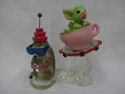 Whimsical World Of Pocket Dragons Radio Controlled Flying Saucer Real Musgrave