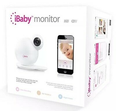 iBaby M6 Wireless HD High-Definition Baby Monitoring System NEW
