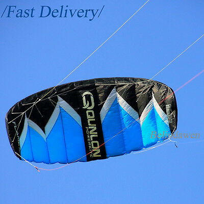 2 Sqm Quad Line Sports Power Kite Parachute Kite For Trainer Traction Sports