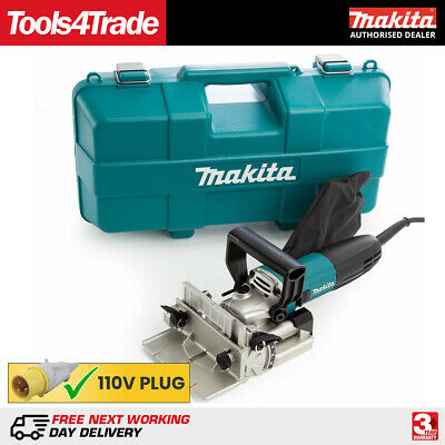 Makita PJ7000 Biscuit Jointer Kit 100mm Dowel Jointer 700w 110V Replaces 3901