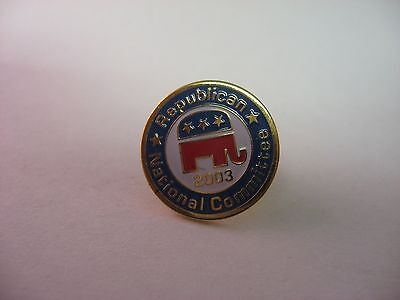 2003 RNC Republican National Committee Pin