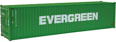 Walthers HO Scale 40' Hi-Cube Corrugated Shipping Container Evergreen (Green)