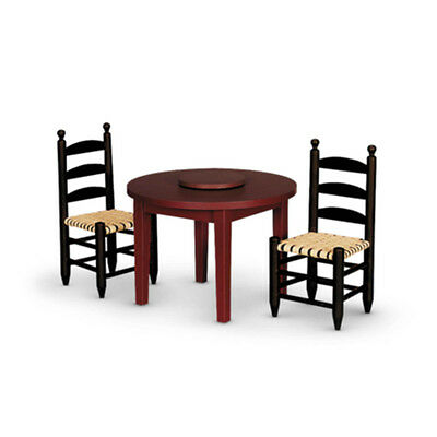 "American Girl ADDY TABLE & CHAIRS for 18"" Doll Furniture Dining Historical NEW"