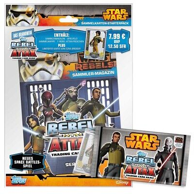 Topps Star Wars - Rebel Attax Serie 1 Starter (DE)