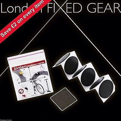 London FIXED GEAR glueless tube PUNCTURE PATCHES