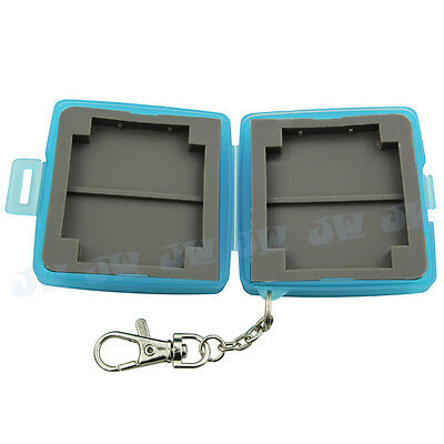 JJC Water-resistant Holder Hard Storage Memory Card Case For 4 SD/2 CF Cards