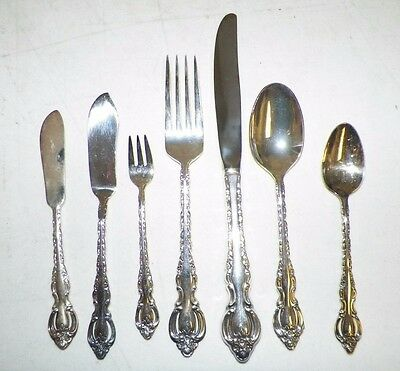 International Deepsilver Silverplate Flatware Korea Countess 16 Pc Mixed Lot