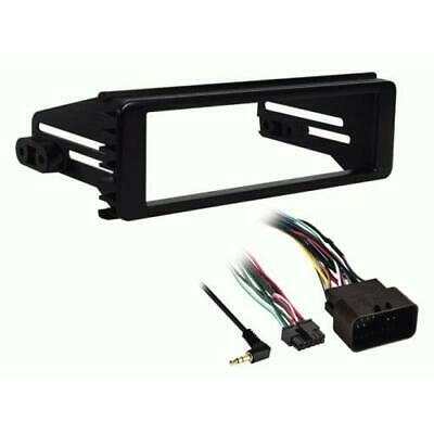 Metra 99-9600 Single DIN Stereo Dash Kit for Select 1996-2013 Harley Davidson