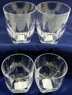 Whisky Drinking 4 Polycarb Tumbler Glasses Small Cold Picnic Outdoors Camping  C