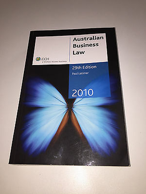 australian business law In australia, the main piece of legislation governing the supply of goods and  services is the competition and consumer act 2010 (cth) (cca),.