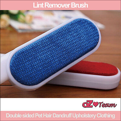 Lint Remover Brush Double sided Pet Hair Dandruff Upholstery Clothing