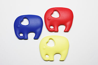 Teether - Teething Toy - BPA Free Silicone - Elephant