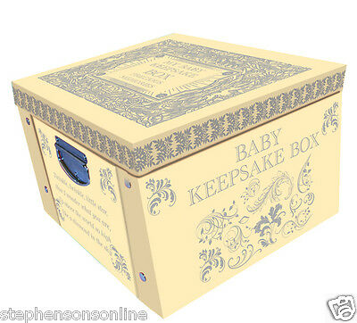 Yellow My Baby Keepsake Box A Lifetime Of Memories Large Collapsible Storage Box