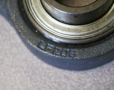 "Peer LF206 Flange bearing with bearing #FHS206-19, 1-13/16"" I.D. 3"" O.D - USED"