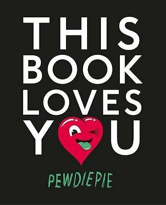 This Book Loves You by PewDiePie (New Paperback Book)