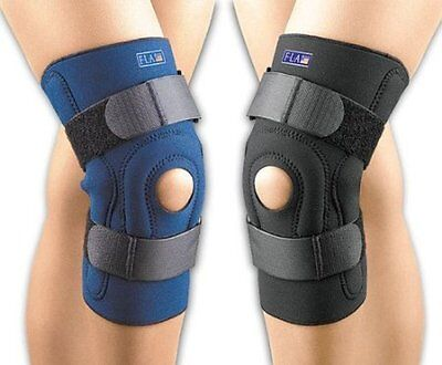 FLA Orthopedics Safe-T-Sport Neoprene Hinged Knee Brace - #37-104