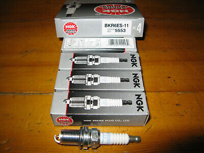 Ngk Bkr6Es-11 Spark Plug New In The Original Box  5553