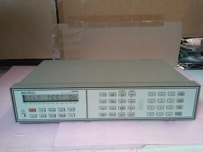 HP Agilent 3488A Switch Control Unit Data Acquisition Control Mainframe HPIB