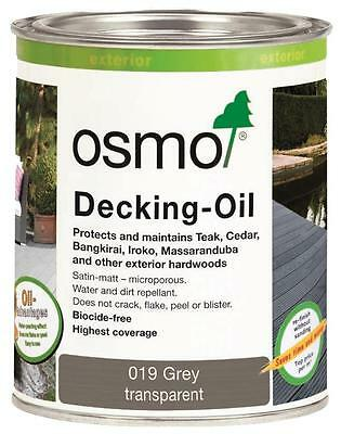 Osmo 019 Wood / Decking  Oil Grey Natural Shade Transparent 2.5L