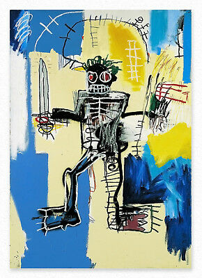Jean-Michel Basquiat   Untitled  100x70 cm STAMPA TELA CANVAS PRINT TOILE LIENZO
