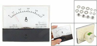NEW 44L1-A AC 1A Rectangle Panel Analogue Current Meter Ammeter