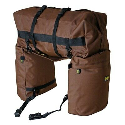 trailMAX Original Saddlebags, Satteltasche Western Packtasche, braun