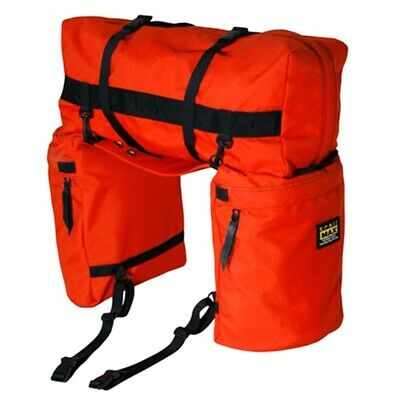 trailMAX Original Saddlebags, Satteltasche Western Packtasche, orange