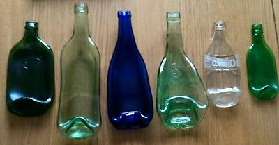 Quirky Recycled Bottle Bowls/Dishes