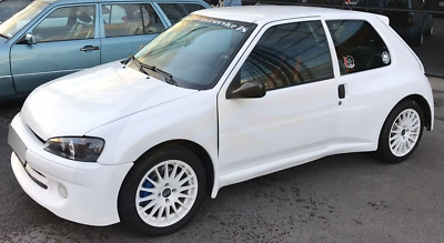 PEUGEOT 106 GTI 3 door 1992-2003 wind deflectors HEKO Tinted 2pc set