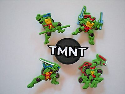 Croc Jibbitz Shoe Charm Plug Buttons Fit Holey Clog Bracelet Ninja Turtles Lot