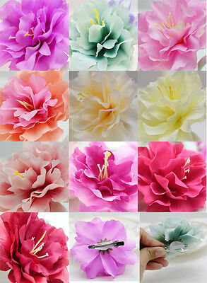 1pcs Hair Accessorie Silk Flower Hairpin Hair Clip For Bridal Wedding Prom Party