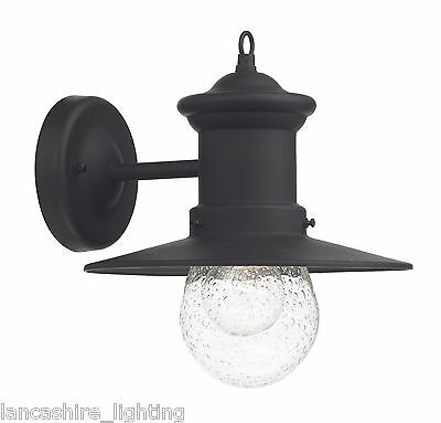 Sedgewick Outdoor Wall Light Black Finish Dar-SED1522