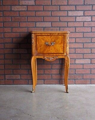Antique Nightstand / Bedside Table / Vintage Nightstand ~ Paint To Order ~