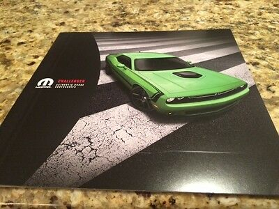 2015 Dodge Challenger Accessories 12-page Original Sales Brochure