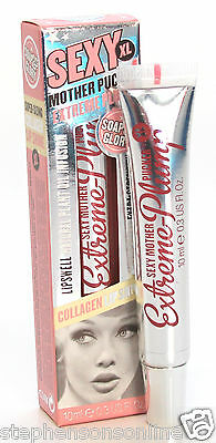 Soap And Glory Sexy Mother Pucker XL Extreme Plump CLEAR Lip Gloss 10ml