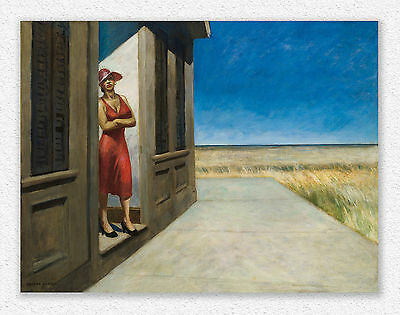 Edward Hopper  South Carolina Morning  75x100cm  STAMPA TELA CANVAS PRINT TOILE
