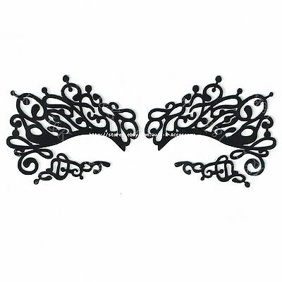 Sexy Floral Lace Eye Mask Party Dress Ball Ladies Masquerade Mask -E5