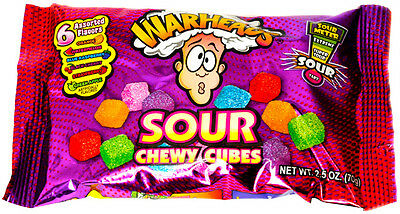 Warheads Sour Chewy Cubes 70g by American Goodies USA IMPORT