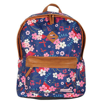 Unkeeper Casual 'Marshmallow' Flowers Backpack