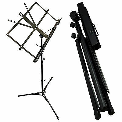 Professional Folding Orchestra Three-Section Sheet Music Stand and Carrry Bag