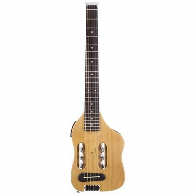 New Traveler Guitar Escape Steel String Acoustic-Electric Travel Guitar, Natural