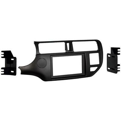 Metra 95-7353CH Charcoal Double DIN Stereo Dash Kit for 2012-up Kia Rio/Rio5