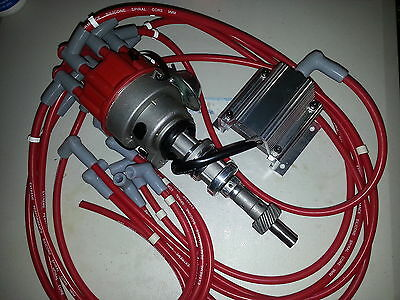 Ford Cleveland 302 351 Complete Electronic Ignition Distributor kit Replaces MSD