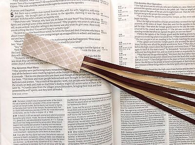 CAFE bookmark ribbons, multi page for Bible, hardcover books handmade accessory