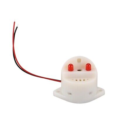 DC 6-24V 30mA 2 Wire Industrial Red LED Flash Alarm Buzzer 95dB LW