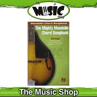 New The Mighty Mandolin Chord Songbook - Chords & Lyrics Music Book