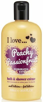 I Love... Peachy Passionfruit Bubble Bath And Shower Creme 500ml