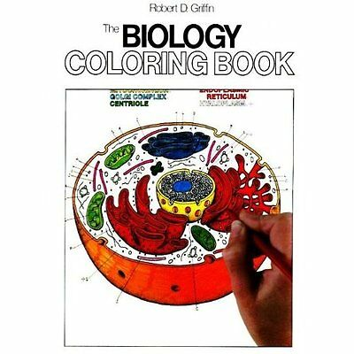 The Biology Colouring Book Robert D. Griffin HarperCollins HB 9780064603072